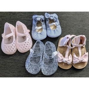 Baby Girl Shoes Bundle, Baby Gap, Old Navy 6-12 M